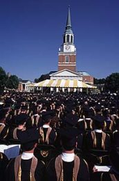 May 18, 1998 commencement ceremonies