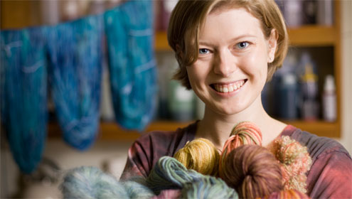 Laura Bullins Lough ('07) started her own business when she was still a student.