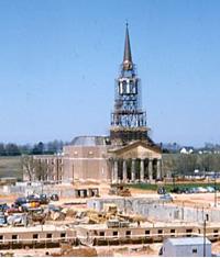 Construction of Wait Chapel