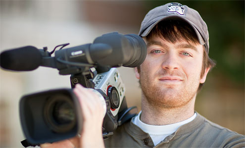 Senior Sam Smartt put his history major and film studies minor to good use making a promotional video for the Winston-Salem Rescue Mission.