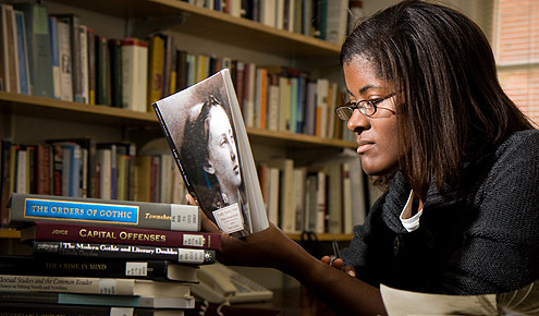 Melissa Jenkins ('01) returned to Wake Forest two years ago to teach 19th century British literature.