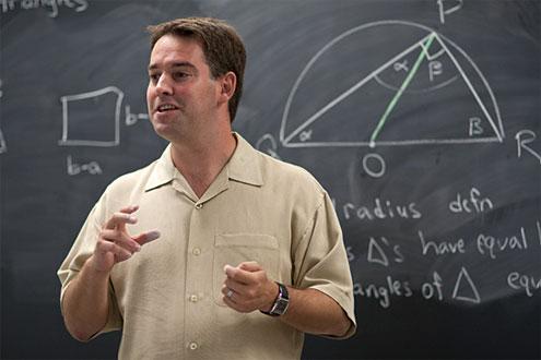 Assistant Professor of Mathematics Jason Parsley