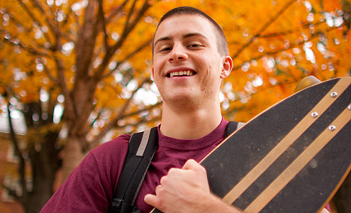 Ben Comer's web business came together as part of Wake Forest's entrepreneurship program.