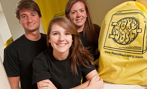 The Wake Wash team
