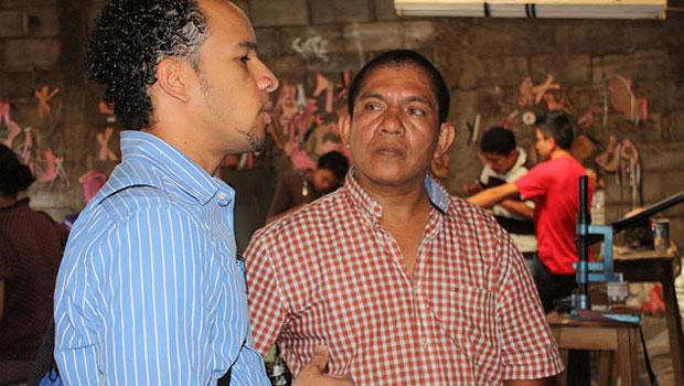 Luis De La Cruz and Oscar Flores in Nicaragua