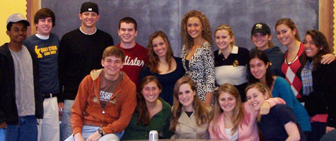 "2007 first-year seminar class ""Surprising Spirituality"" with Lynn Neal"