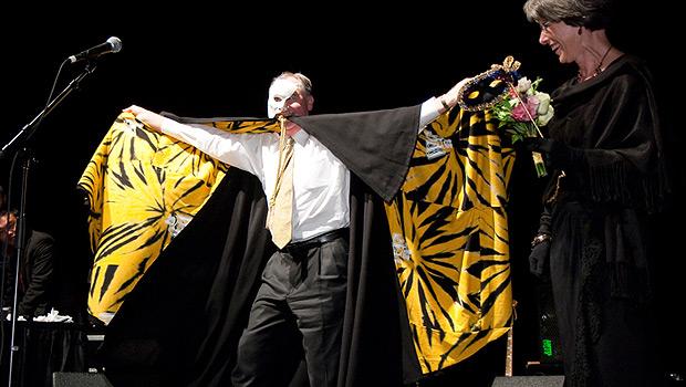 President Hatch as the Phantom of the Opera