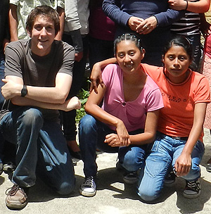 David Inczauskis in Guatemala