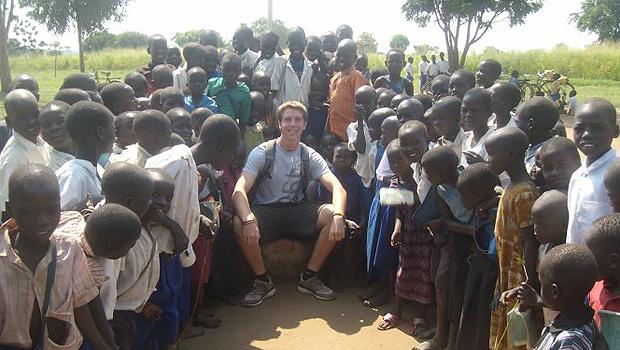 Hunter DeKoninck in Uganda