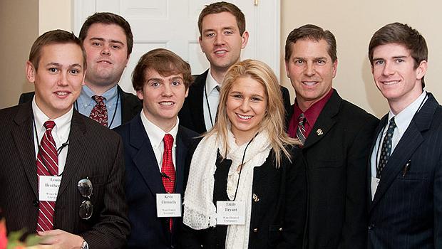 Wake Forest ethics team