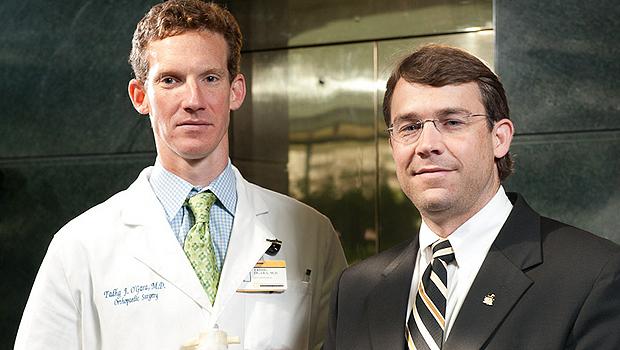 Tadhg O'Gara and David Smitherman