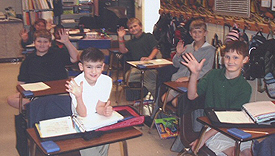 Students at Westwood Elementary