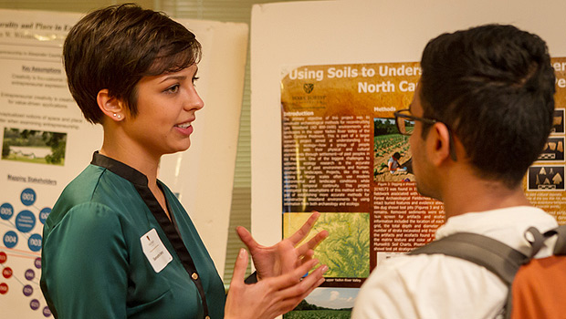 Samantha Yaussey talks about her anthropology research into the early people of North Carolina.