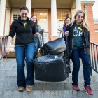 Wake Forest students cook and deliver made-from-scratch Thanksgiving dinners to food-insecure local residents during the annual Turkeypalooza.