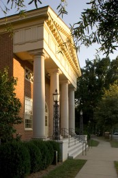 Wingate Hall, home of the School of Divinity.