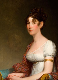 """Mrs. Harrison Gray Otis"" (1809) by Gilbert Stuart"