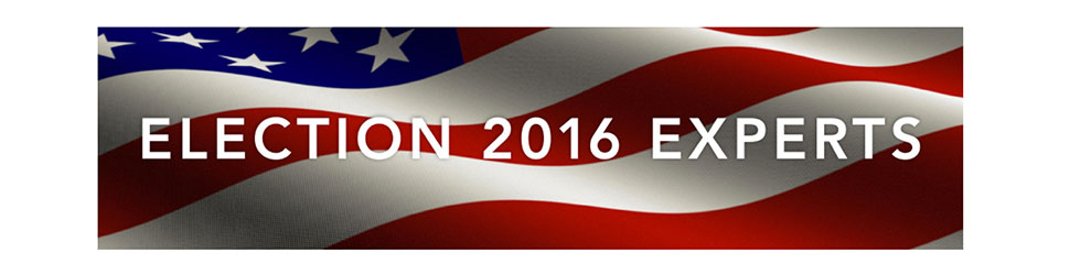 Graphic for Election 2016 experts