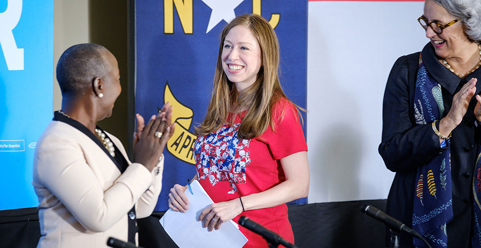 Chelsea Clinton at WFU