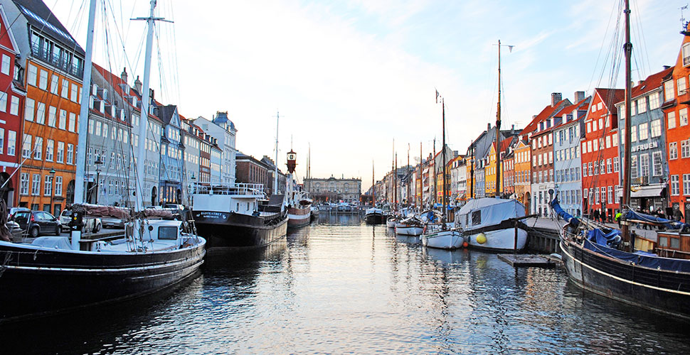 Image of buildings in Copenhagen