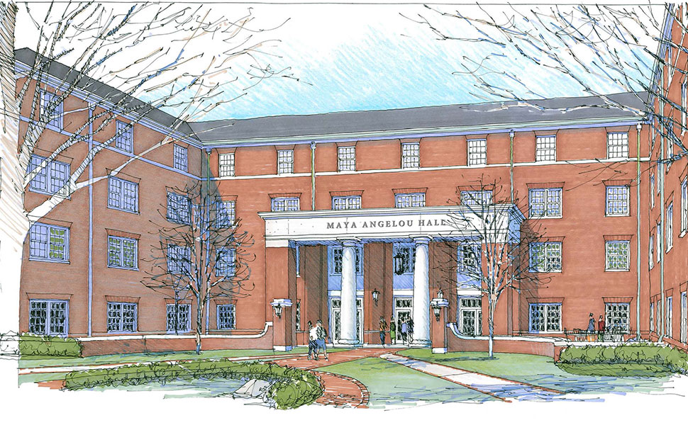 Rendering provided by the Architectural Firm, Hanbury of Norfolk, Va.