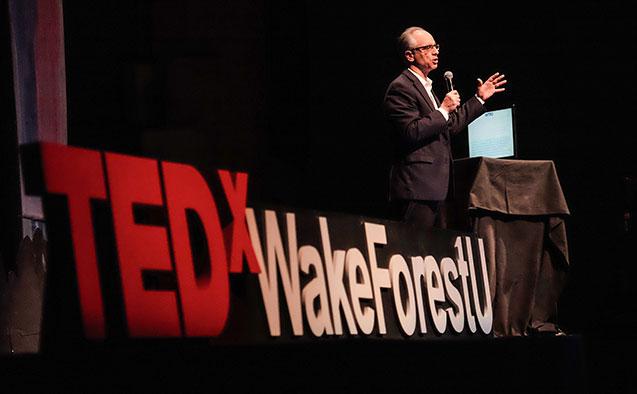 Rogan Kersh at TEDxWakeForestU