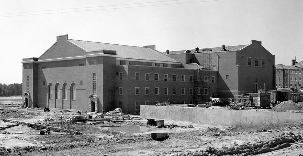 Reynolds Gym, 1956