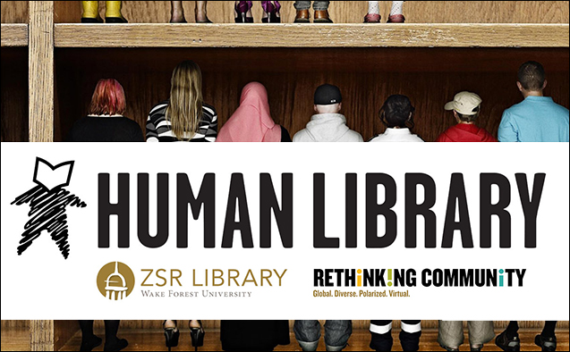 Human Library graphic