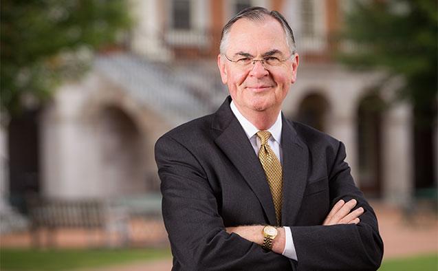 WFU president Nathan O. Hatch