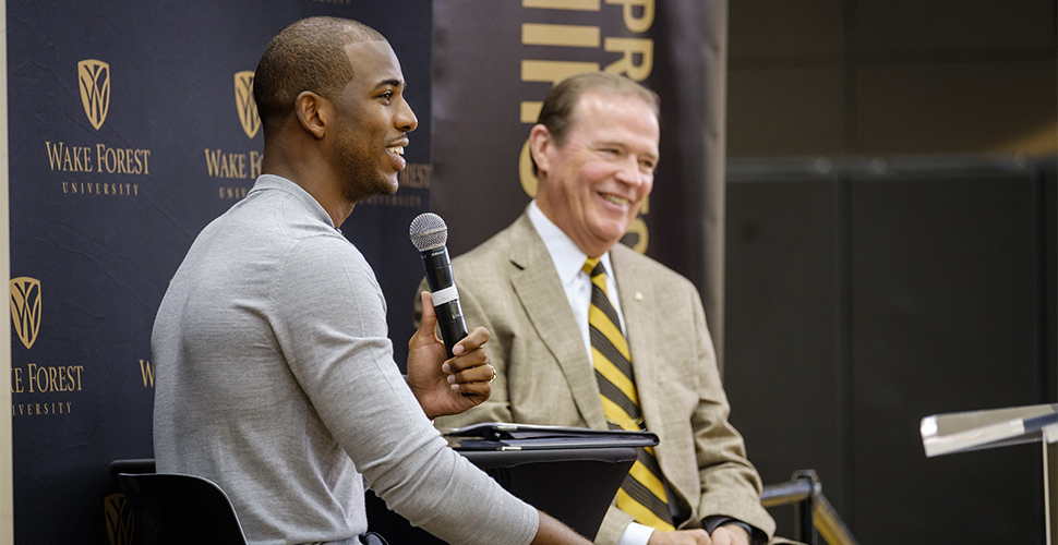 Chris Paul donates $2.5 million to Wake Forest basketball