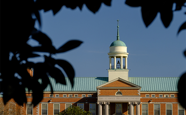 ZSR Library at Wake Forest University