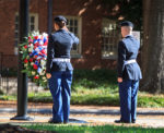 Veterans Day ceremony at Wake Forest University