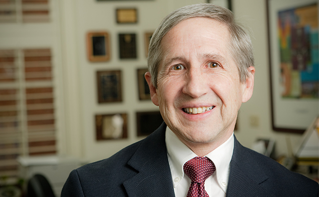 Sam Gladding, chair of the Department of Counseling, Wake Forest University, in his office in Tribble Hall on Tuesday, December 1, 2009.