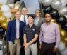 CASE award winners during a reception to celebrate at Wake Forest
