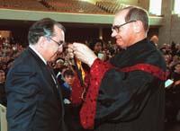 Dr. Richard Janeway (left)