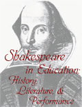 Shakespeare in Education: History, Literature and Performance