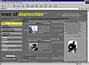 Men of Distinction Website