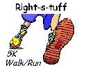 Right-s-tuff Walk/Run logo