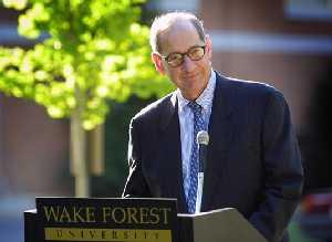 Wake Forest President Thomas K. Hearn Jr