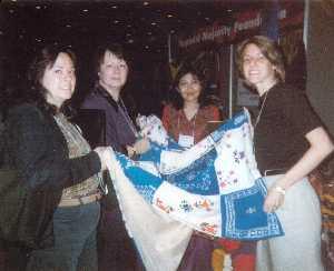 Borwick (second from left)