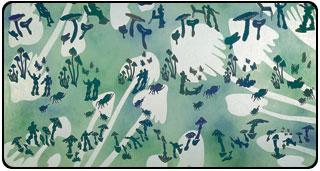Painting by Nancy Mladenoff