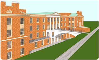 Calloway Hall sketch
