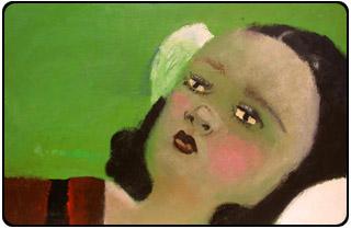 """Elena Sisto's """"Snow White"""" painting"""