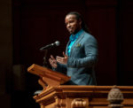 Ibram X. Kendi, founding director of the Antiracist Research and Policy Center at American University, gave a keynote speech in Wait Chapel for the 20th annual Dr. Martin Luther King Jr. Day celebration in partnership with Winston Salem State University on Monday, January 20, 2020.
