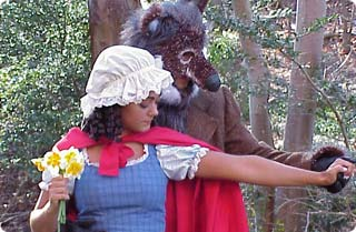 """A scene from """"Into the Woods"""""""