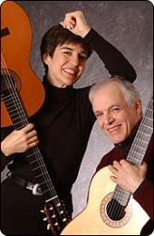 Guitarists Patricia Dixon and Jeffrey Van