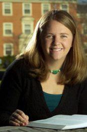 Wake Forest University senior Rebecca E. Cook