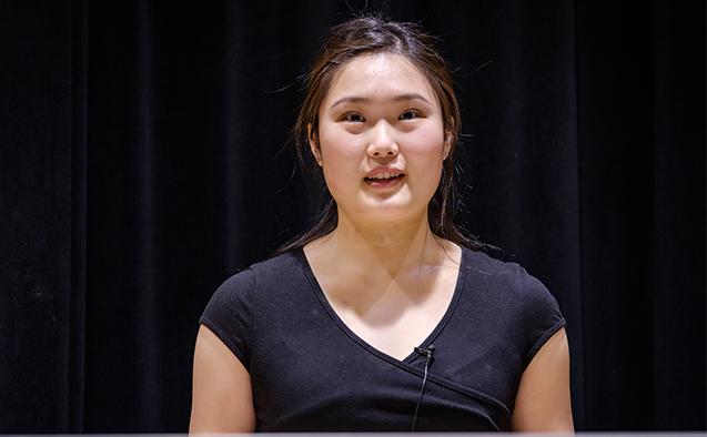 Julianne Zhu ('21)