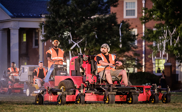 from the ground up lawn mowers