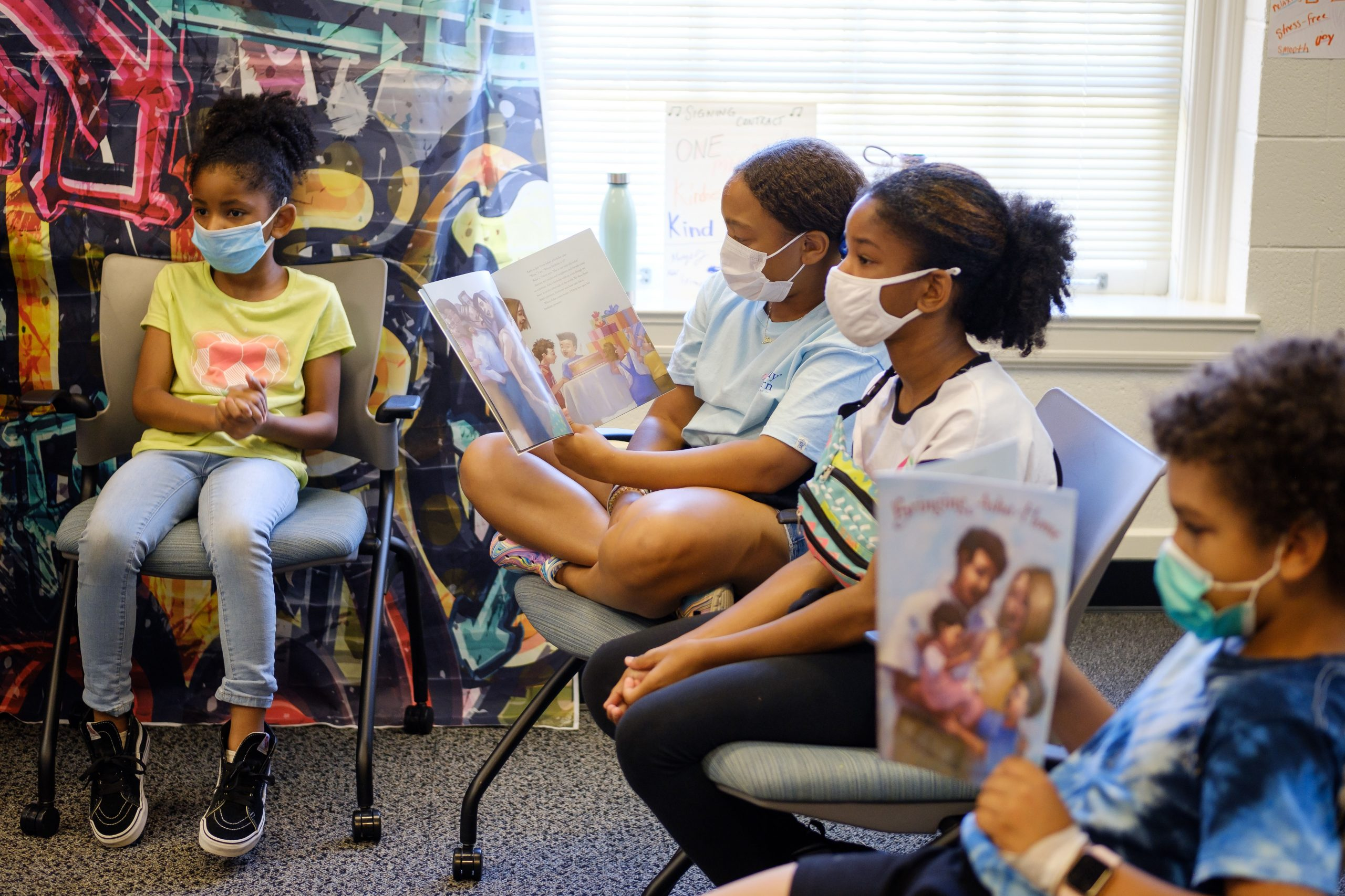 Wake Forest University hosts Freedom School for local children on campus.