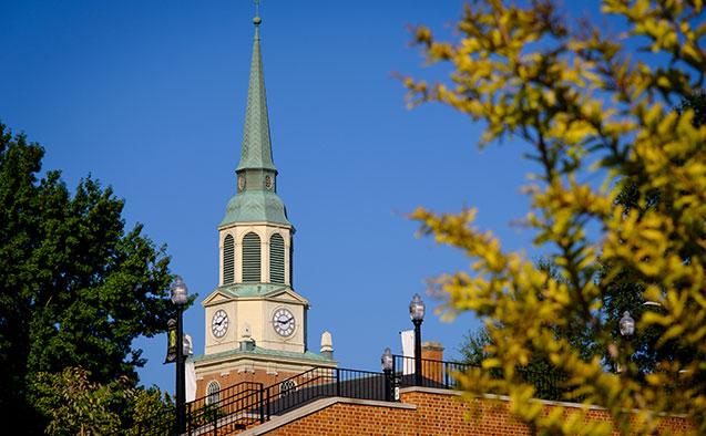 Wait Chapel steeple